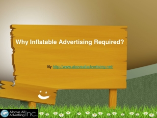 Why inflatable advertising so popular?
