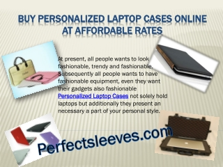 Buy Personalized Laptop Cases Online