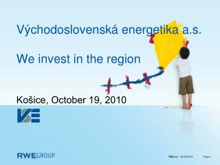 V chodoslovensk  energetika a.s.   We invest in the region