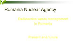 Romania Nuclear Agency