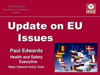 Update on EU   Issues