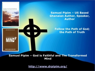 Samuel Pipim - The Transformed Mind