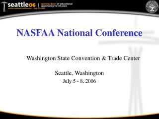 NASFAA National Conference