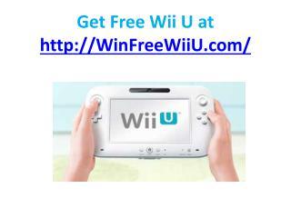 free wii u