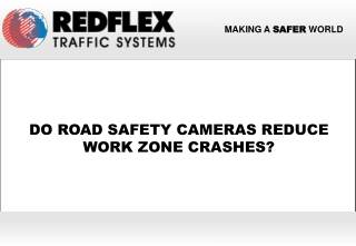 Do Road Safety Cameras Reduce Work Zone Crashes?