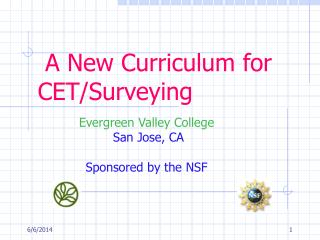 A New Curriculum for CET