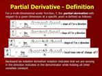 Partial Derivative - Definition
