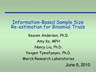 Information-Based Sample Size Re-estimation for Binomial Trials