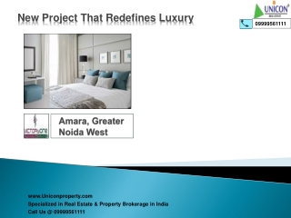 Victoryone Amara Greater Noida (Call 9999561111)