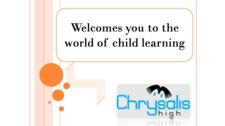 Child Education starts from Home