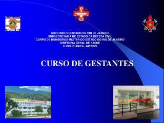 GOVERNO DO ESTADO DO RIO DE JANEIRO SUBSECRETARIA DE ESTADO DA DEFESA CIVIL CORPO DE BOMBEIROS MILITAR DO ESTADO DO RIO