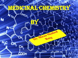 Introduction to Medicinal Chemistry