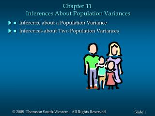 Chapter 11  Inferences About Population Variances
