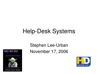 Help-Desk Systems