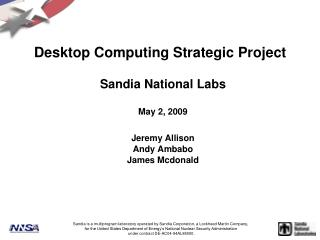 Desktop Computing Strategic Project
