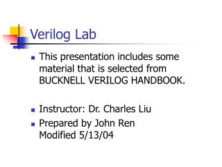 Verilog Lab
