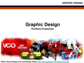 Visual College of Art and Design Graphic Design Portfolio