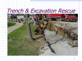 Trench  Excavation Rescue