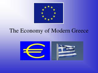 The Economy of Modern Greece