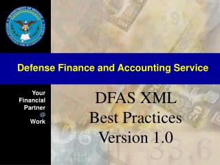DFAS XML Best Practices Version 1.0