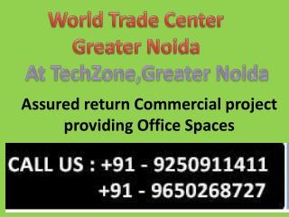 World Trade Center Noida, WTC Noida