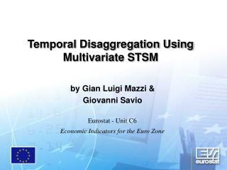 Temporal Disaggregation Using Multivariate STSM