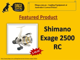 Shimano Exage 2500 RC Drag Spinning Reel