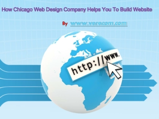 Why should select Chicago web design company?