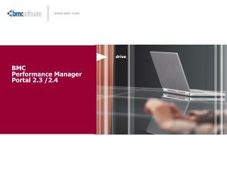 BMC  Performance Manager Portal 2.3