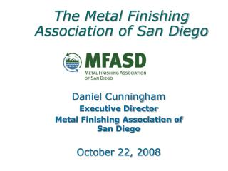 The Metal Finishing Association of San Diego