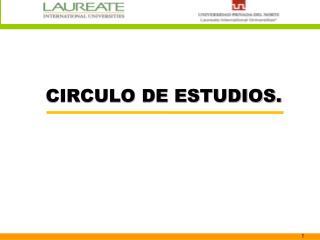 presentación del grupo de estudios