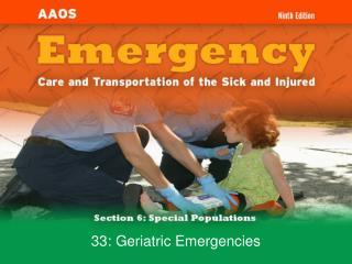 33: Geriatric Emergencies