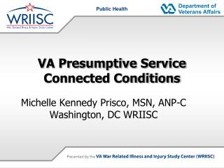 VA Presumptive Service Connected Conditions