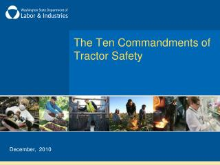 The Ten Commandments of Tractor Safety