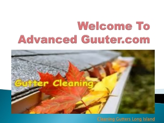Advance Gutter
