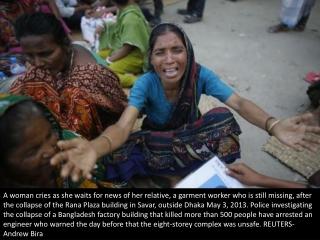 Mourning Bangladesh's victims