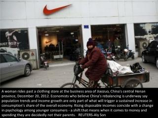 China's rising consumerism