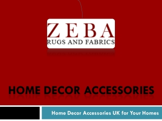 Home Decor Accessories UK