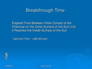 Breakthrough Time
