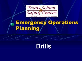 Emergency Operations Planning