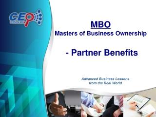 MBO Partner Presentation