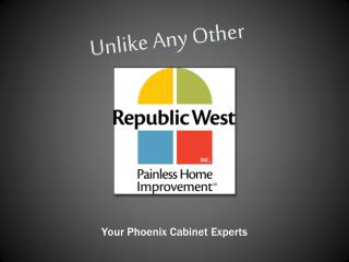 Phoenix Cabinet Refacing - Republic West