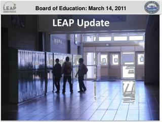 LEAP Update