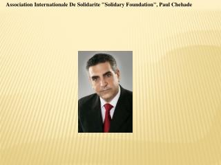 Association Internationale De Solidarite Solidary Foundatio