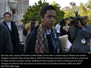Lauryn Hill sentenced to prison