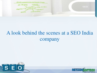 A look behind the scenes at a SEO India company