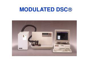 MODULATED DSC