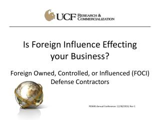Is Foreign Influence Effecting your Business