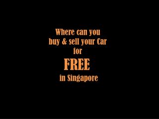 Carmarket.sg - Singapore #1 Car Classified Forum