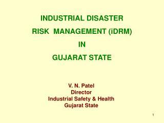 V. N. Patel Director Industrial Safety  Health Gujarat State